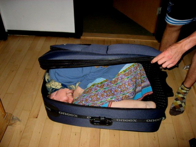 Silja in a Suitcase
